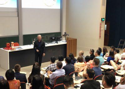 Stuart Walter, Iron Fish conference