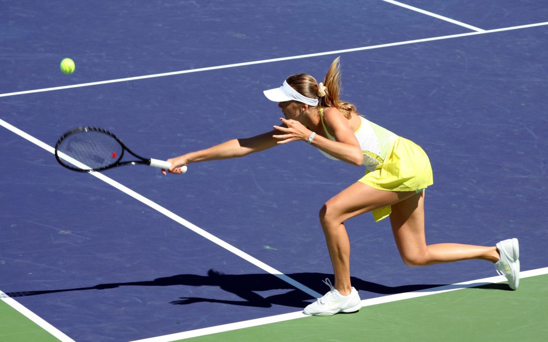 Stress is like a game of tennis…